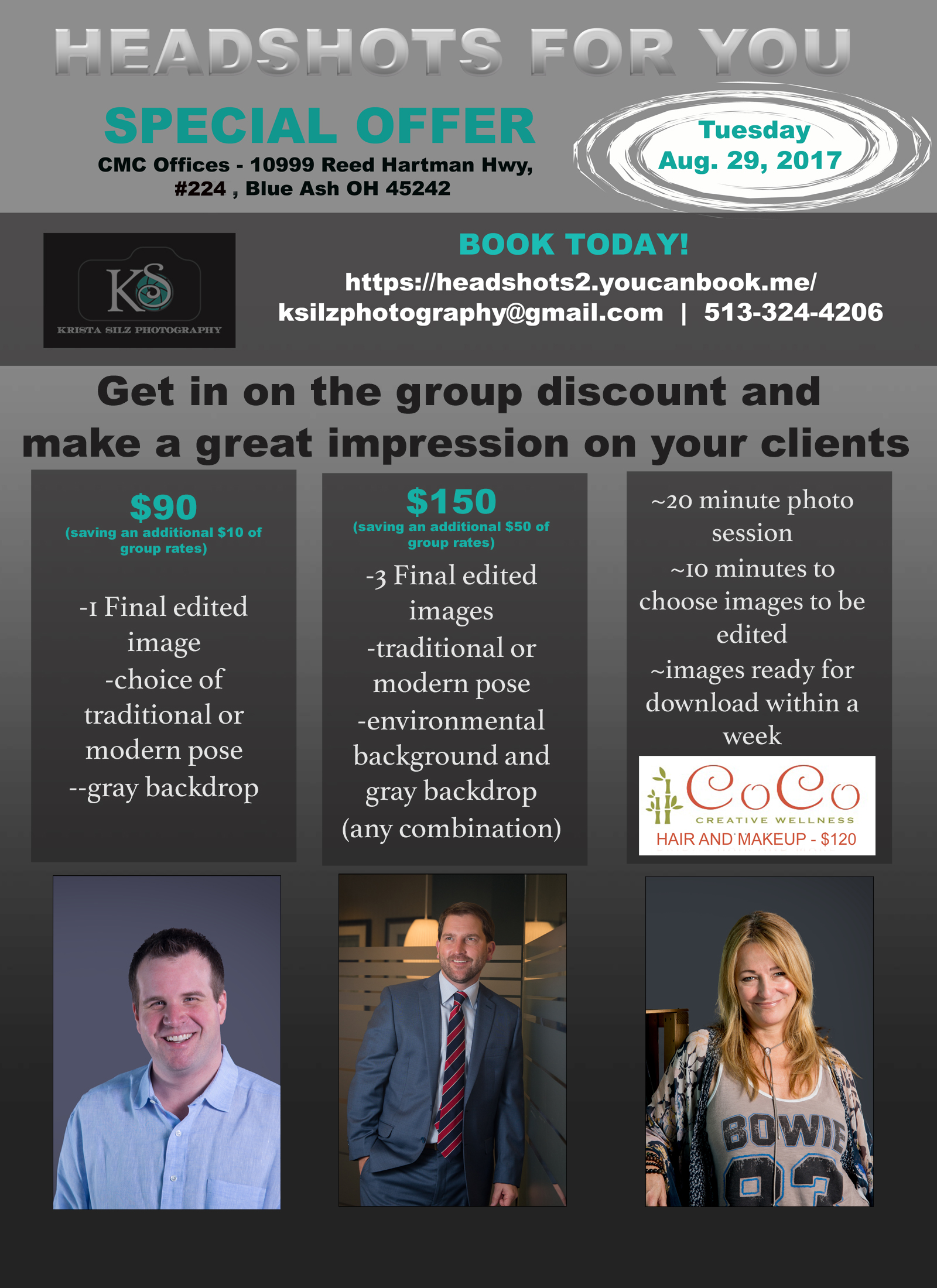 Blue Ash Ldr Interactive Special Offer On Headshots